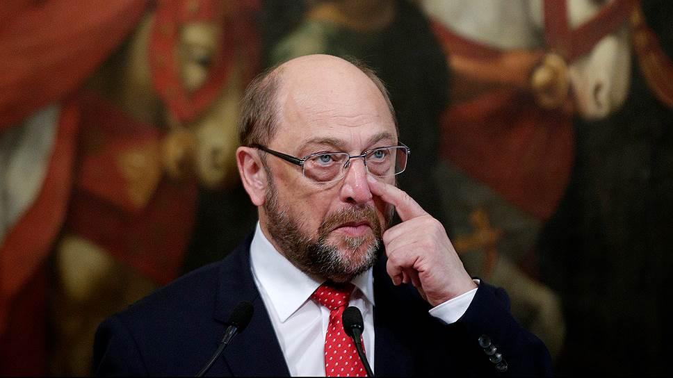 Что в прошлом Мартина Шульца отличает его от других немецких политиков
