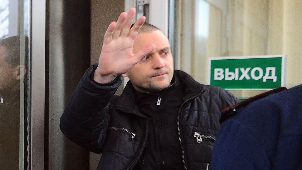 Как Сергей Удальцов освободился после заключения за организацию массовых беспорядков на Болотной площади