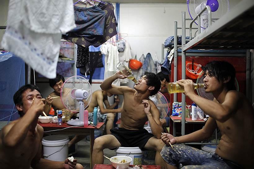 Быт рабочих-мигрантов далек от совершенства