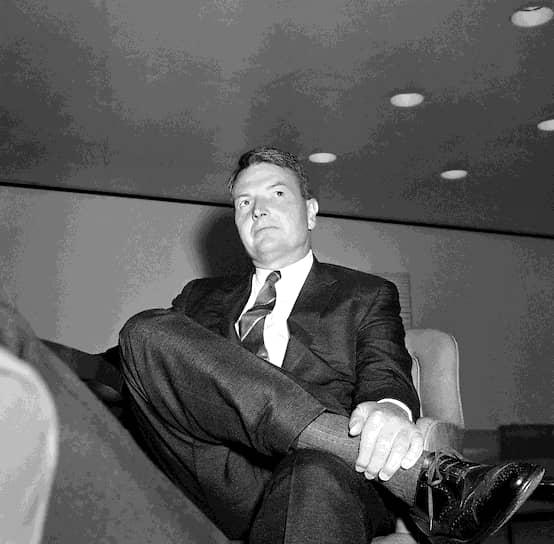 Американский банкир, государственный деятель Дэвид Рокфеллер