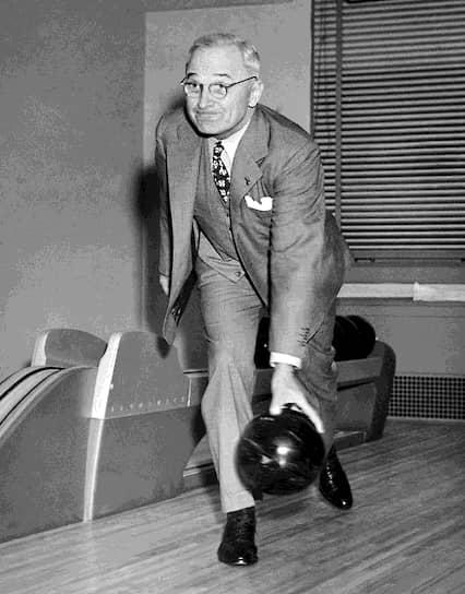 33-й президент США в 1945-1953 годах Гарри Трумэн