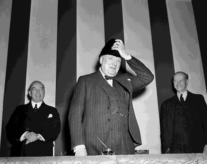Премьер-министр Великобритании в 1940-1945 и 1951-1955 годах Уинстон Черчилль