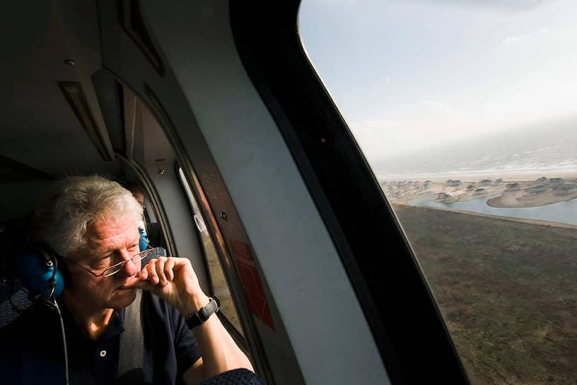 42-й президент США в 1993-2001 годах Билл Клинтон