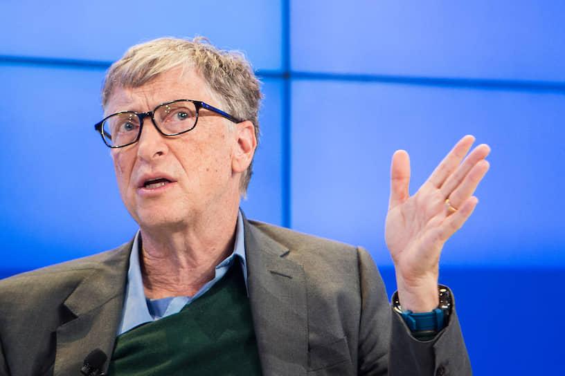 Американский предприниматель и общественный деятель, филантроп, один из создателей и бывший крупнейший акционер компании Microsoft Билл Гейтс