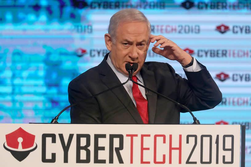 Действующий премьер-министр Израиля Биньямин Нетаньяху