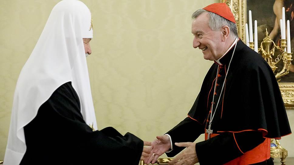 Как Россию посетил кардинал Пьетро Паролина