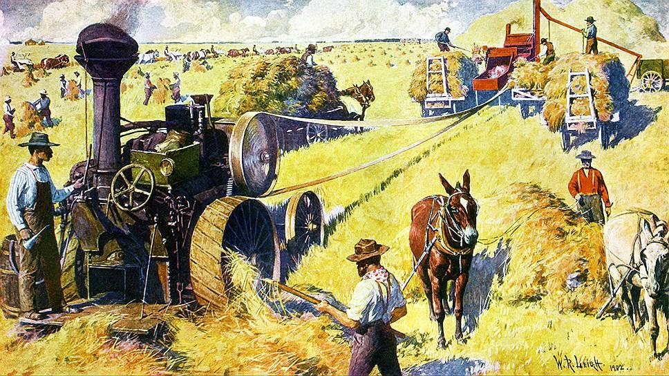Механизация сельского хозяйства придала «невидимой руке» рынка особую силу