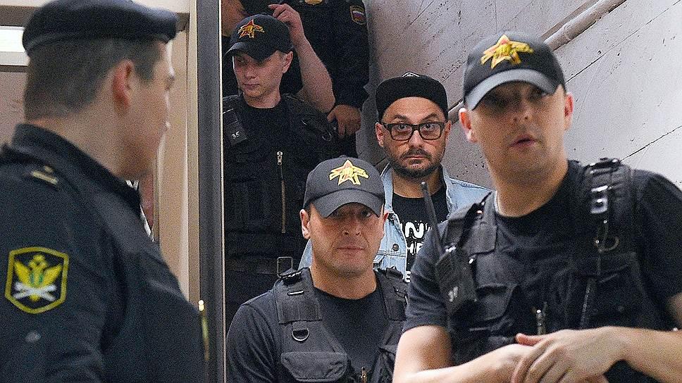 Как Басманный суд избрал Кириллу Серебренникову домашний арест