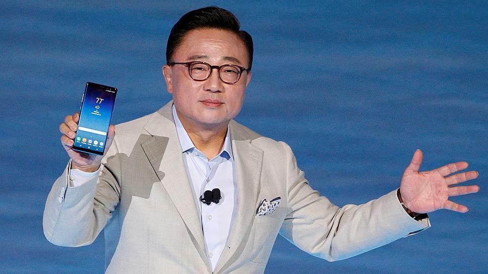 Как Samsung представила противопожарный смартфон