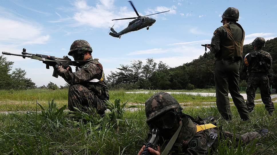 Южная Корея разработает план атаки на КНДР без помощи США