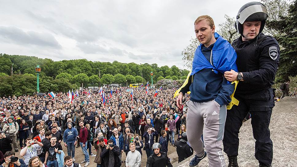 Санкт-петербургское «Яблоко» вступилось за гайд-парк
