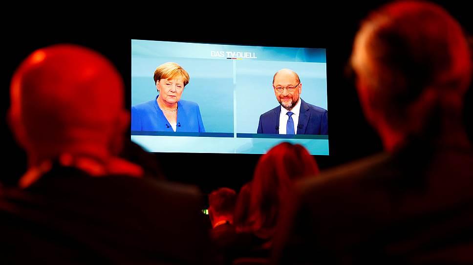 Как Ангела Меркель выступила в предвыборных теледебатах
