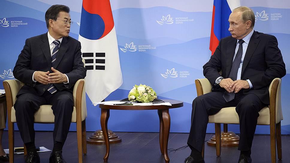 Как Владимир Путин собрался мирить Кореи газом