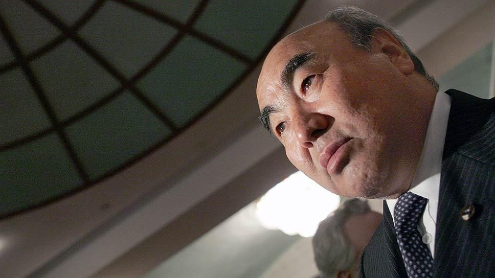Бывший президент Киргизии Аскар Акаев