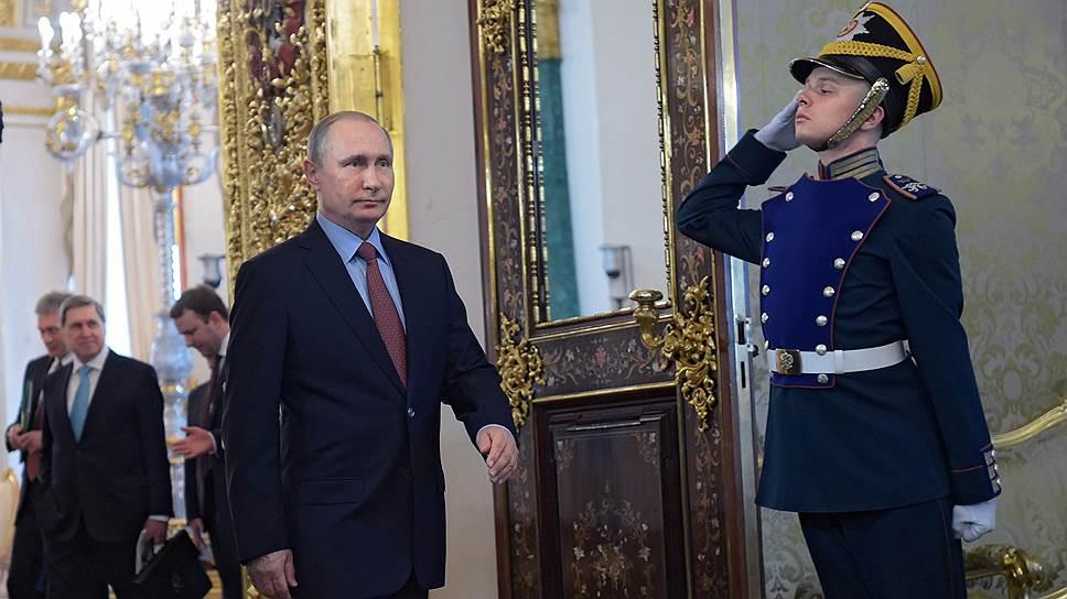 Когда ждали согласия от Владимира Путина на выдвижение