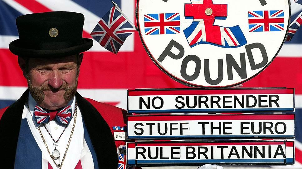 Крах, Британия