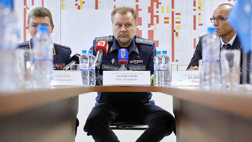 Заместитель директора ФСИН Олег Коршунов