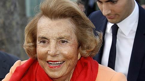 Умерла совладелица L'Oreal Лилиан Бетанкур // Самой богатой женщине мира было 94 года