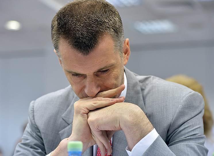 Предприниматель Михаил Прохоров