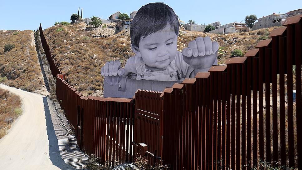 Как США начали возводить прототип стены на границе с Мексикой