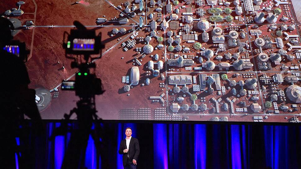 Когда Илон Маск планирует начать колонизацию Марса