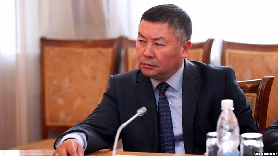 Лидер парламентской фракции «Кыргызстан» Канат Исаев