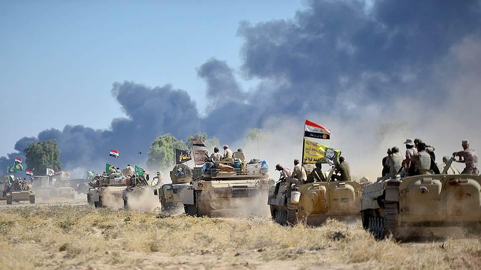 Как боевики ИГ лишились бастиона в Ираке