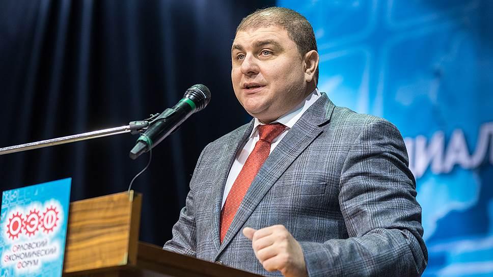 Губернатор Орловской области Вадим Потомский