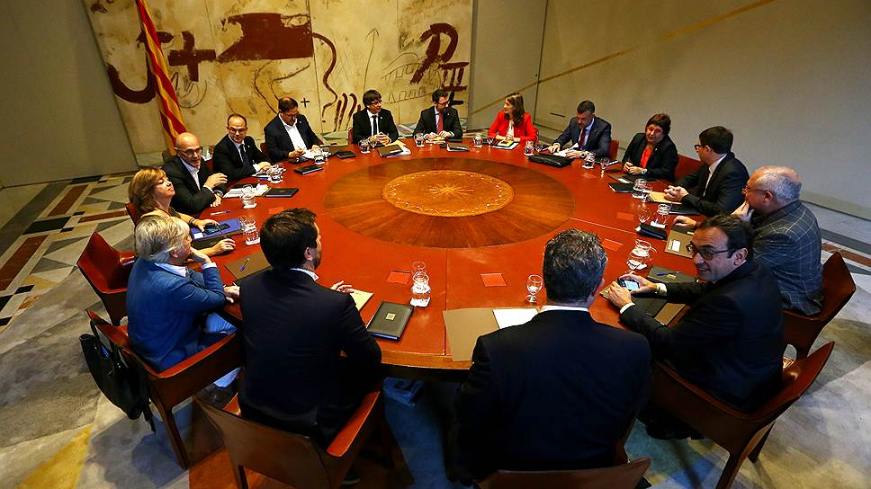 Как Барселона готовилась к декларации о независимости от Мадрида