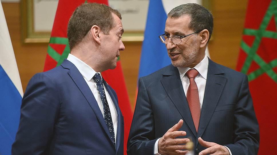 Как Дмитрий Медведев посещал Алжир и Марокко