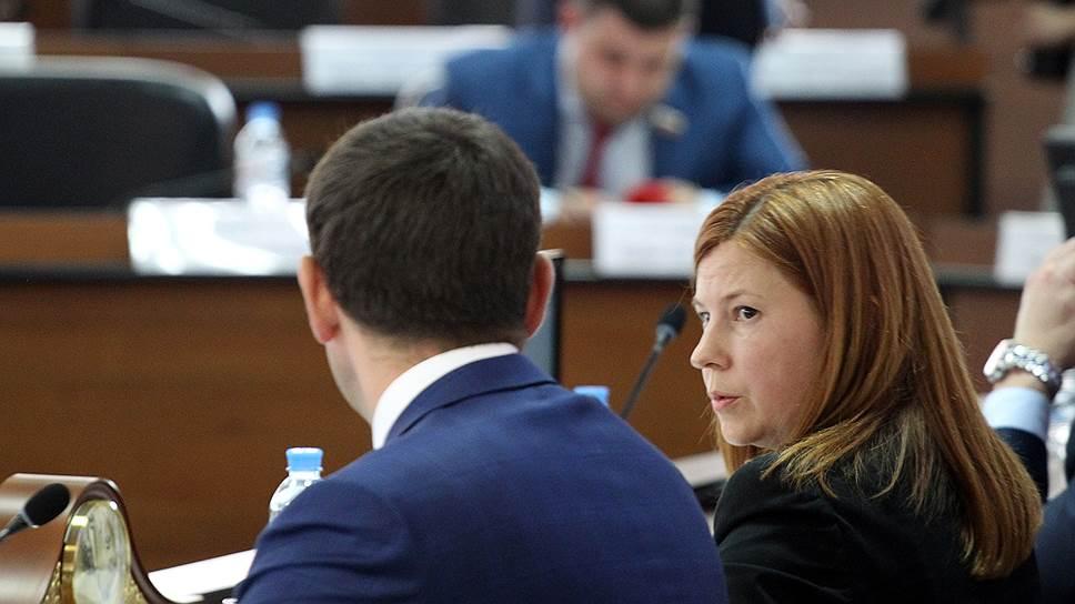 Спикер гордумы Нижнего Новгорода Елизавета Солонченко