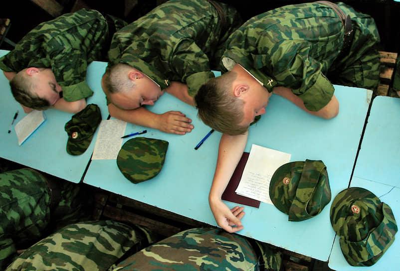 Курсанты Ярославского высшего зенитного ракетного училища противовоздушной обороны, 2010 год