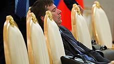 Министр юстиции России Александр Коновалов на официальной встрече премьер-министра Индии Манмохана Сингха и президента России Владимира Путина, 2013 год
