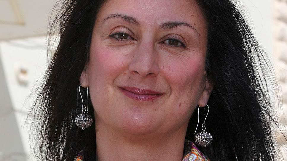 Журналистка Дафна Каруана Галиция