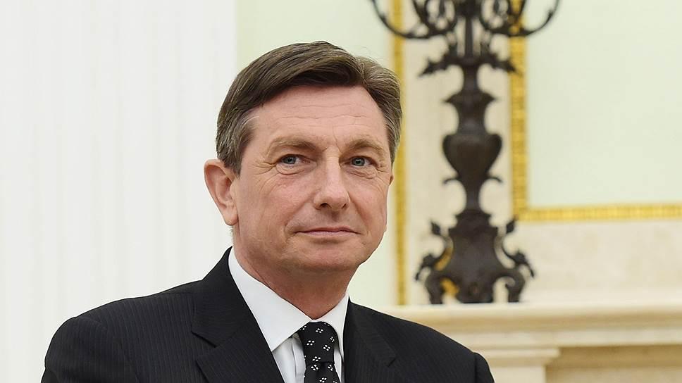 Президент Словении собрался на второй срок