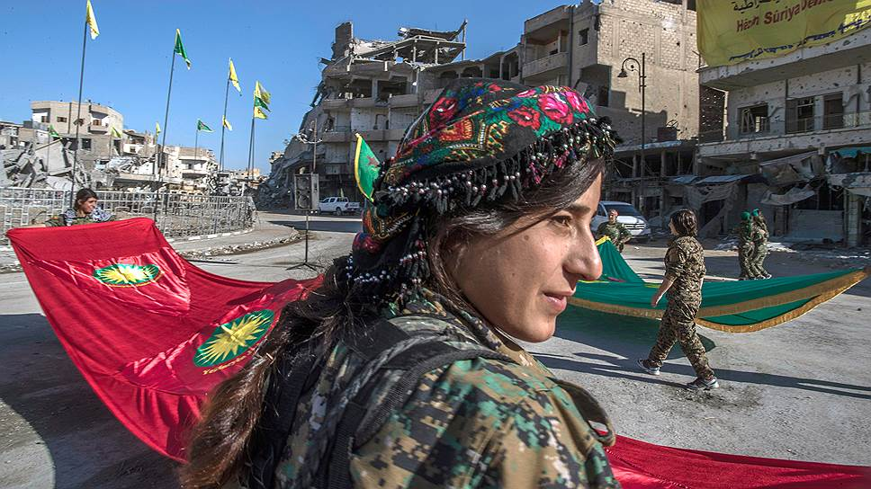 Как прошла церемония освобождения Ракки