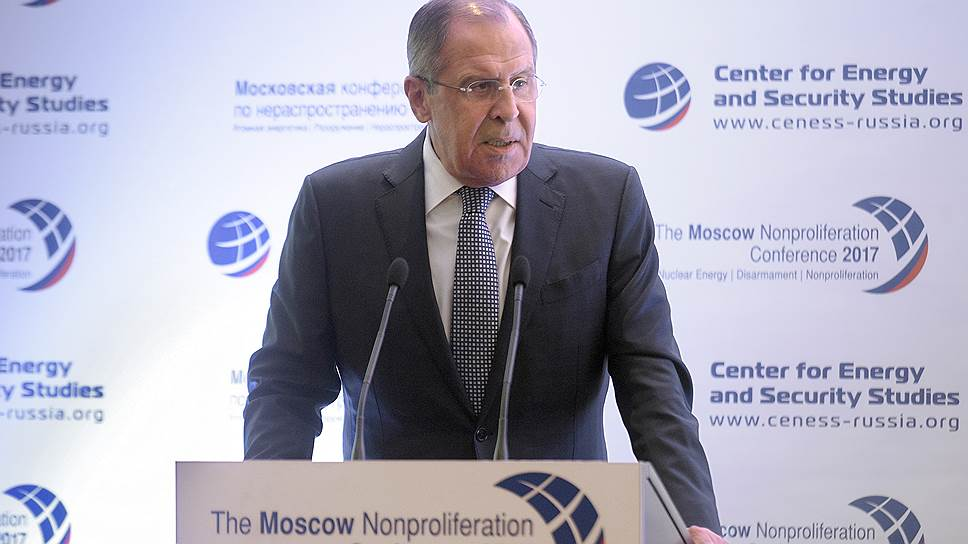Сергей Лавров раскритиковал ДЗЯО и перечислил претензии Москвы к Вашингтону