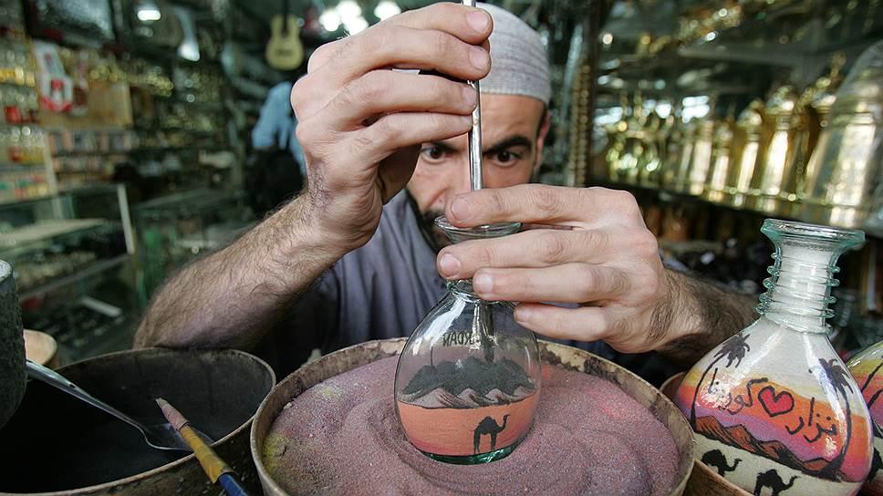 Сырье для производства стекла тоже песок