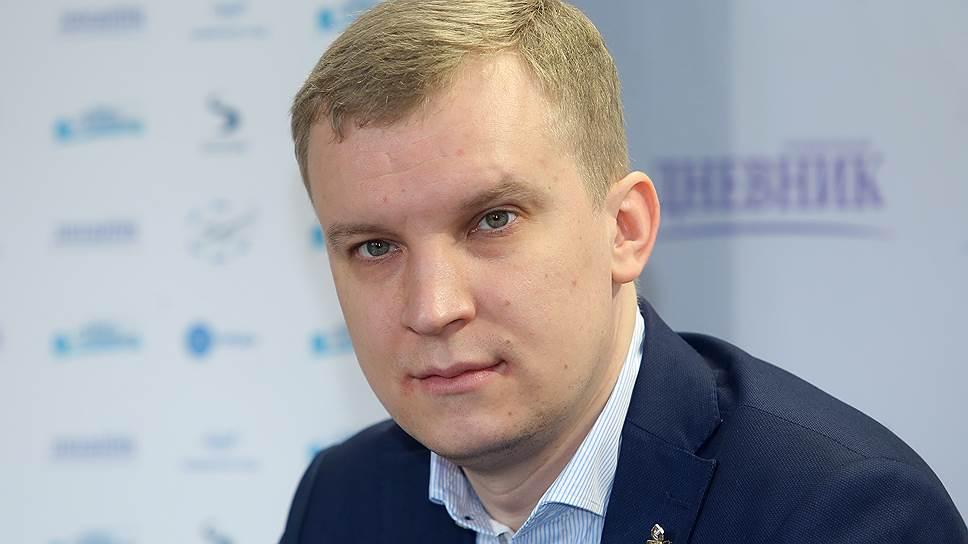 Председатель петербургского отделения Российского союза молодежи Дмитрий Лядов