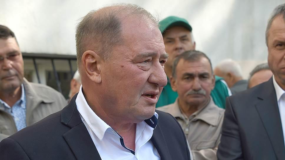 Заместитель председателя Меджлиса крымскотатарского народа, бывший председатель Бахчисарайской районной администрации Ильми Умеров