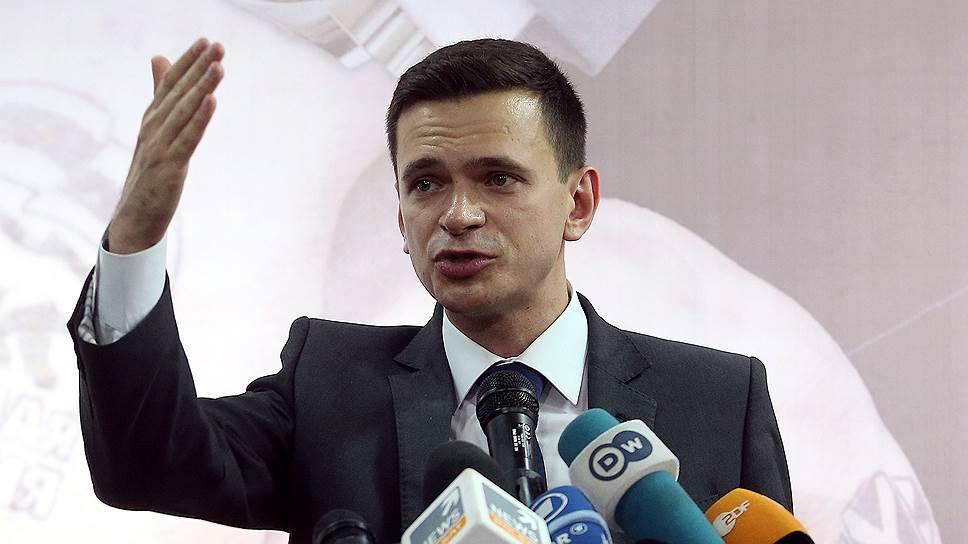 Глава Красносельского района МО, сопредседатель движения «Солидарность» Илья Яшин