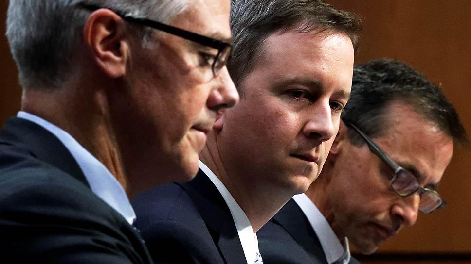 Как Facebook, Google и Twitter обсудили рекламу с конгрессменами