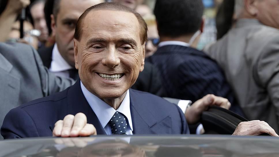 Как босс мафии подвел под следствие Сильвио Берлускони