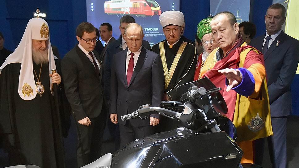Какие три главных качества для человека будущего выбрал Владимир Путин на выставке в Манеже