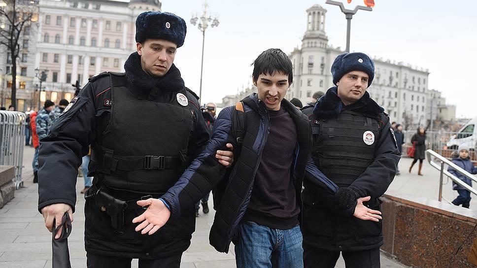 Как 5 ноября 2017 года задерживали активистов «Артподготовки»