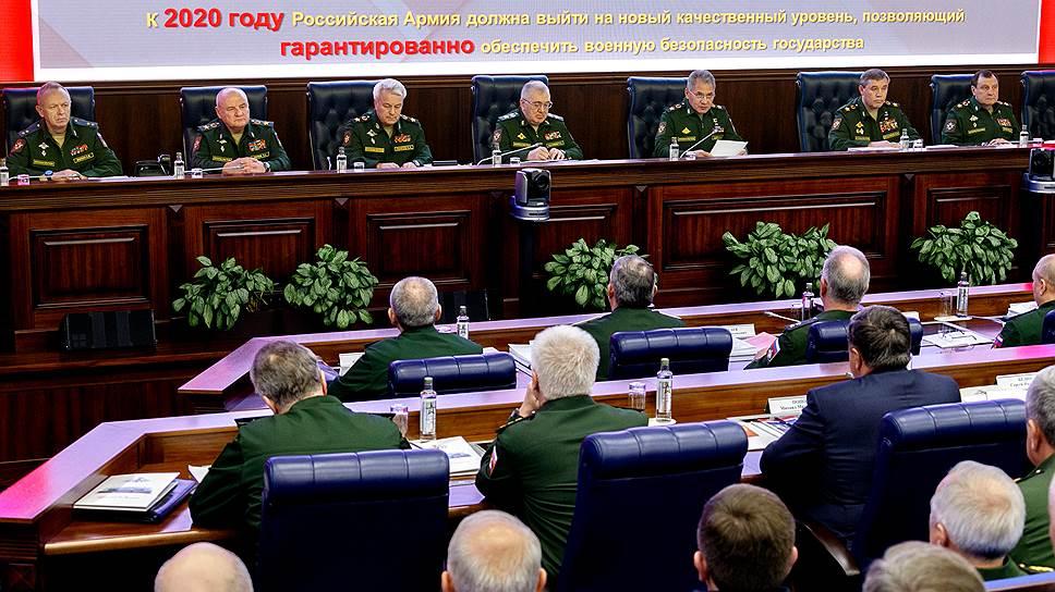 Военные отчитались о том, что удалось сделать с армией за последние пять лет