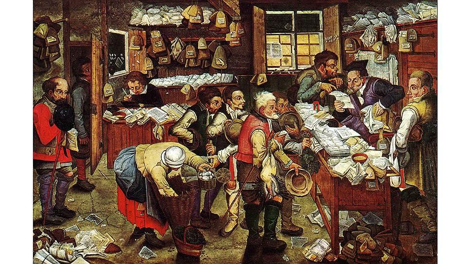 В глазах Цицерона получатели заработной платы были сродни сборщикам налогов