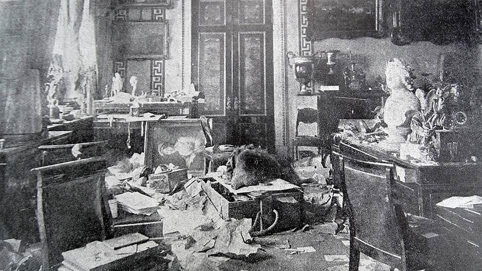 После революции 1917 года не осталось ни одной целой императорской резиденции