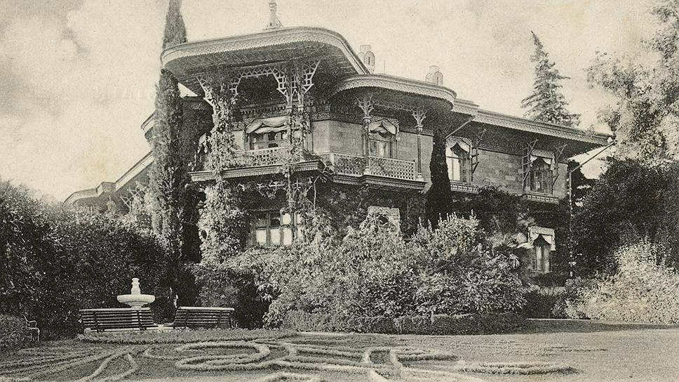 Малый дворец в Ливадии (дворец наследника). Разрушен в годы Второй мировой войны