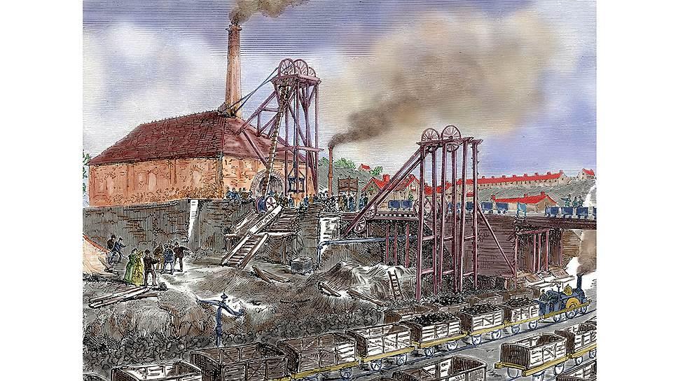 Хорошая оплата труда в Великобритании вернулась в период массовой добычи угля